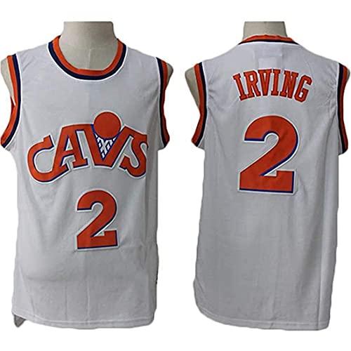XSJY Jersey Men's NBA Cavaliers 0# Kevin Love Baloncesto Entrenamiento Ropa Deportes Y Ocio Secado Rápido Vestido Sin Mangas,A,L:175~180cm/75~85kg