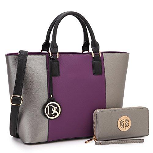 Women Large Tote Bags Designer Handbags and Purses Laptop Shoulder Bags Satchel Work Bags Vegan Leather Top Handle Bags