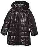 Calvin Klein Big Girls Long Puffer Jacket, Sport Black, M8/10