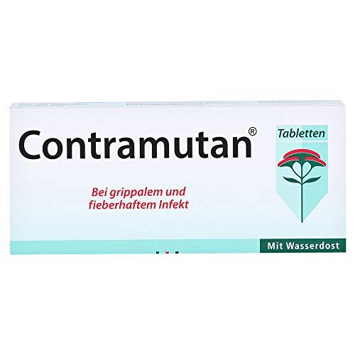 Contramutan Tabletten bei grippalem und fieberhaftem Infekt, 40 St. Tabletten