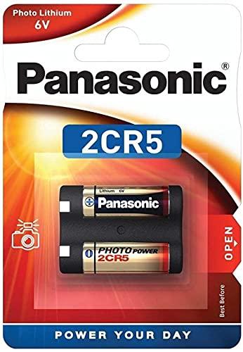 Panasonic 2CR5 6V Lithium-Batterie -...