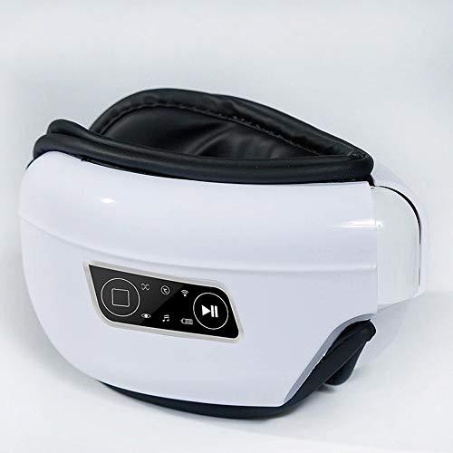 Preisvergleich Produktbild Elektrisches Augenmassagegerät,  kabelloser Bluetooth-Multifunktionsluftdruck,  heiße Kompresse mit konstanter Temperatur,  Vibrationen mit mehreren Frequenzen,  tragbares Falten der USB-Schnittstelle