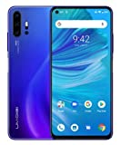 Unlocked Smart Phone 2020, UMIDIGI F2 Side Fingerprint 48MP AI Quad Camera, 6.53'