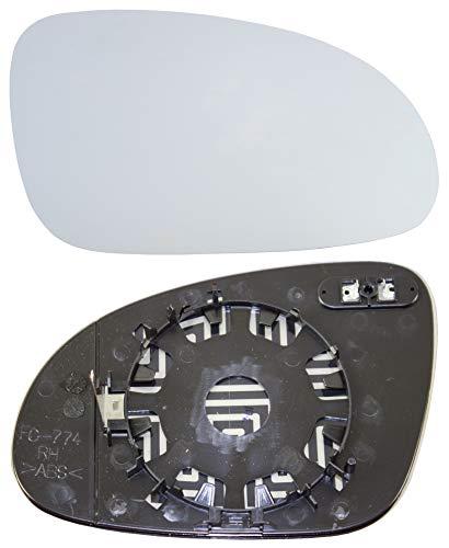 Taros Trade 57-0361-R-51393, Cristal de Retrovisor Calefactable Lado Derecha, Azul