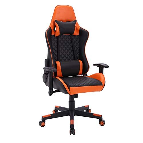 TXOZ Sillas ergonómicas for sillas de Juego con la Oficina Asiento de Cubo de Carreras con Soporte Lumbar