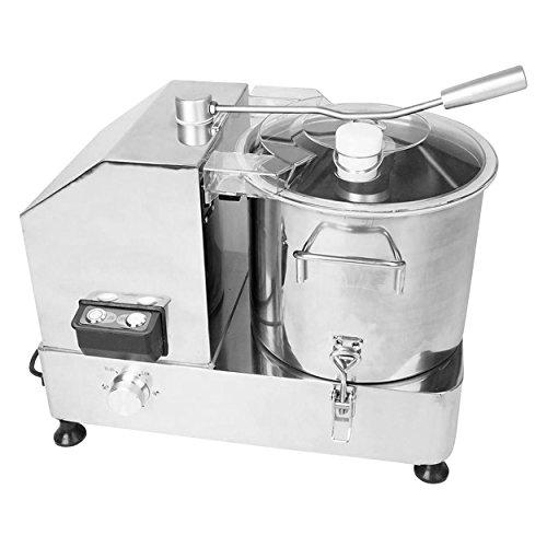 Kutter 9 Liter für Gastronomie Metzgerei aus Edelstahl mit Sichelmesser mit 1800 Wattmotor
