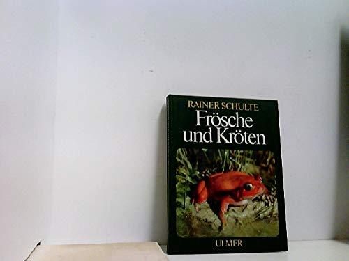 Frösche und Kröten. Tropische und einheimische Froschlurche im Terrarium. 38 Farbfotos, 62 Schwarzweiß-Fotos und Zeichnungeen.