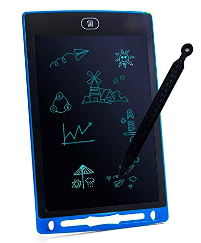 HerHome LCD Writing Tablet 8.5 Inches -Kids Drawing Writing Boards, Electronic Learning and Education Toys, Doodle Scribbler Boards Gifts for Kids and Toddlers at Home, School and Kindergarten