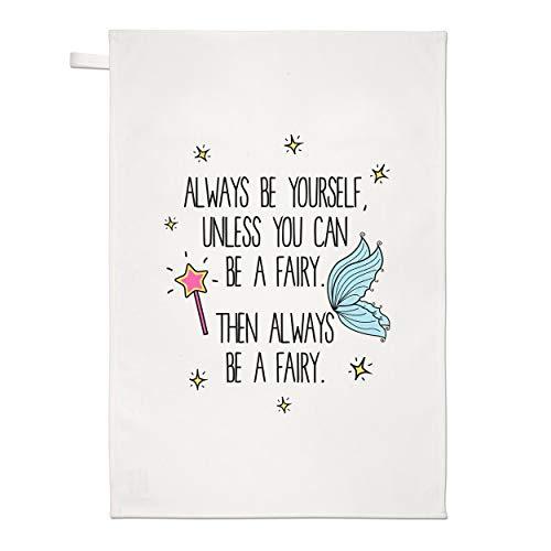 Gift Base Always Be Yourself Fée Torchon Chiffon de Vaisselle