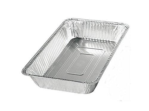 50 x Alu Behälter GN 1/1 8500ml Alubehälter Aluschale Kuchenform Backschale