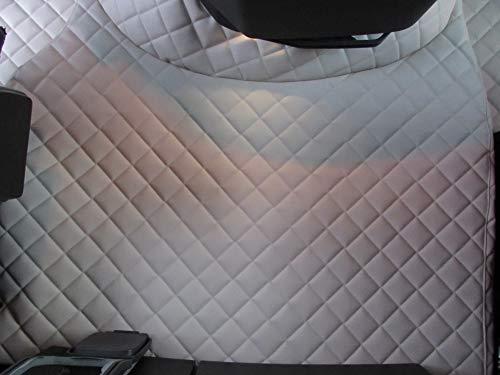 Générique Tapis de Sol pour Camion - RHD FH AUTOMAT 2006-2014 - Capitone Beige Eco Cuir