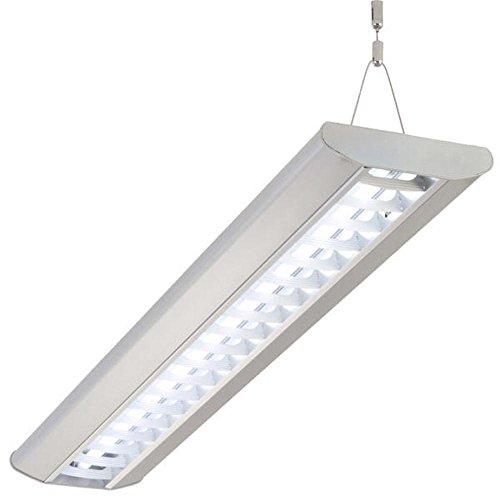 Preisvergleich Produktbild Büroleuchten LED,  Deckenlampe,  KATJA,  25W mit 1 LED RÖHRE,  154cm,  Bürolampe,  Pendelleuchte,  Hängeleuchte LED
