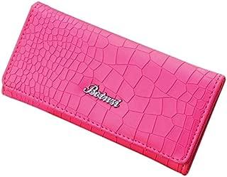 New Arrival Women's Stone Pattern Coin Purse Long Wallet Card Holders Handbag Long Feminino portmonee Women Magnetic Button
