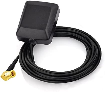 Eightwood Mini Satellite Radio Antenna SMB Female Right Angle Antenna Compatible with Sirius product image