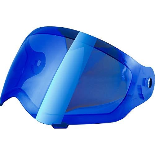 Broken Head Ersatz-Visier Für Motorradhelme - Visier Für Endurohelme VX2 Modelle - Blau Verspiegelt