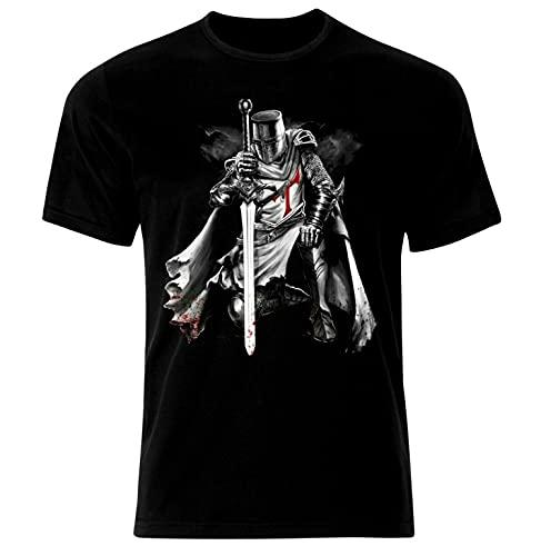 Crusader Warrior Knights Templar Kreuzritter Krieger Tempelritter T-Shirt