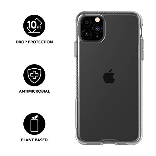 tech21-pure-clear-for-apple-iphone-11-pro-max-phone-case-hygienically-clean-bacterial-fighting-antimicrobial-properties-with-10ft-drop-protection-transparent