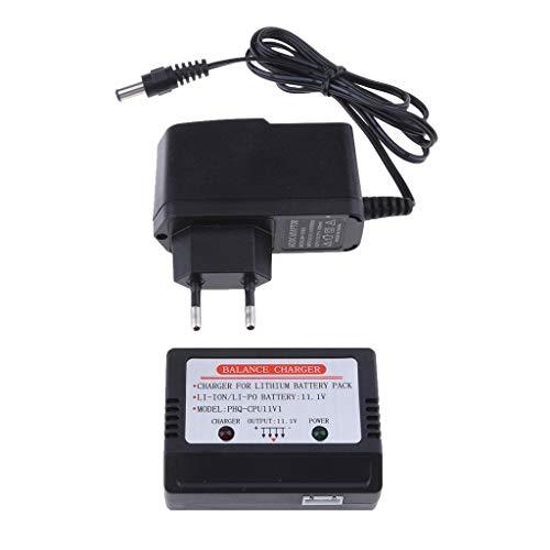 MagiDeal Caricabatteria per Batterie Li-po 11.1v 3s per Cheerson Cx-20 X380 Feilun Ft012