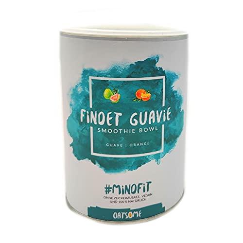 Findet Guavie - Smoothie Bowl - Nährstoff Frühstück mit 100% natürlichen Zutaten & ohne Zusatzstoffe und raffinierten Zucker - Lange satt mit nur 200 kcal - 400g