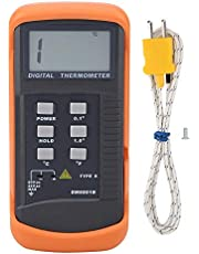 デジタル温度計 シングルチャンネルKタイプデジタル熱電対センサー温度計-50-1300°C