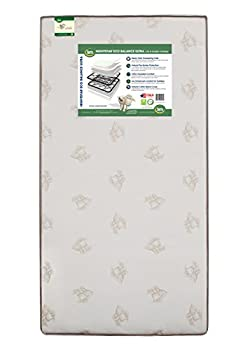 Serta Nightstar Eco Balance Ultra Innerspring Crib and Toddler Mattress   240 Coils   Waterproof   GREENGUARD Gold Certified
