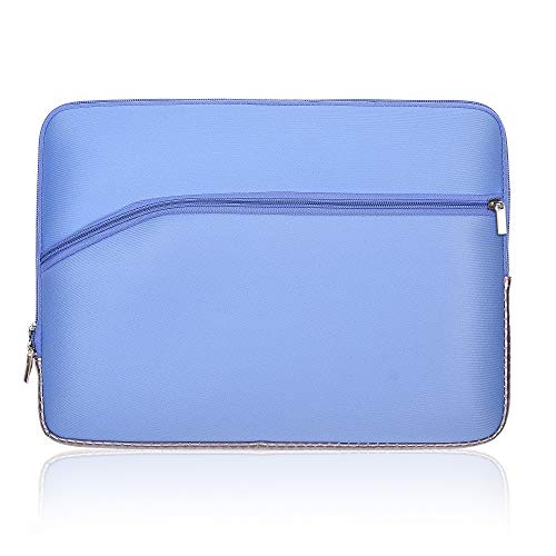 COSMOS Neoprene Protective Laptop Notebook Sleeve Case Bag for For All 13-inch Laptop - Macbook Pro 13'' / Macbook Air 13''/ Macbook Pro Retina Display 13'' (Light Blue Pure Color)