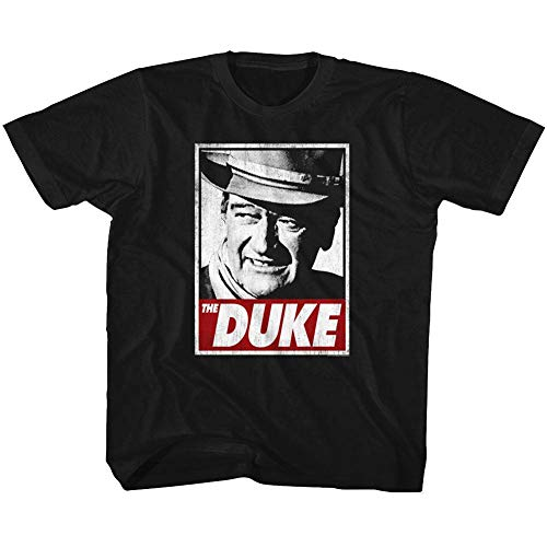 John Wayne - - T-Shirt Unisexe-bébé Tha Duke, 4T, Black