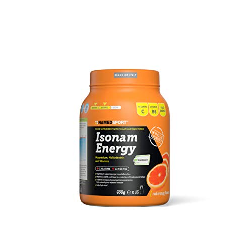 NAMEDSPORT Isonam Energy Orange - 480 Gr