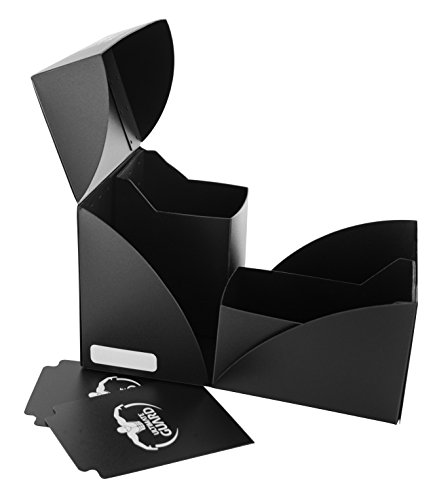 Ultimate Guard Db: Twin Deck Case Black Cards