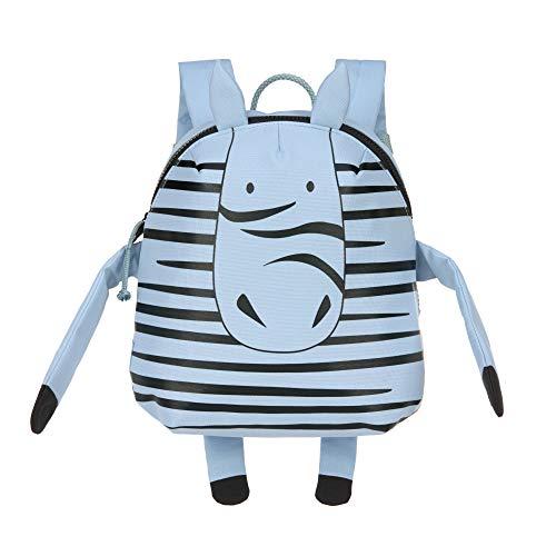 LÄSSIG Kinderrucksack Kindergarten mit Brustgurt ab 3 Jahre/Backpack About Friends, Kaya Zebra, 28 cm, 3,5 L