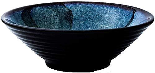 Classique Vintage Céladon Arts de la table Peacock Motif créatif Artiste riz soupe de nouilles fruits Saladier Dessert Bowl Restaurant Couverts (Size : M)