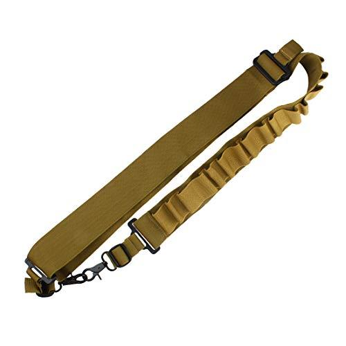 Ran's L Taktisch Schrotflinte Schlinge, Patronengürtel Schrot Bandolier CJ/KCBD-01 (Braun) MEHRWEG