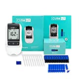 CURO-L7 Professional Grade Blood Cholesterol Test Home KIT (All-in-One : Test Device, Test Strips 10ea, Lancets & EziTube Rod Included)