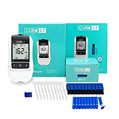 ✅ CURO L7 Cholesterol Test Kit – Enjoy the Convenience of Testing your Lipid Blood Profile at Home at Get Results Instantly. ✅ 6 test results with ONE drop of blood (35µl)–Total, TG, HDL, LDL, LDL/HDL and non-HDL Cholesterols ✅ Take your Kit on the G...