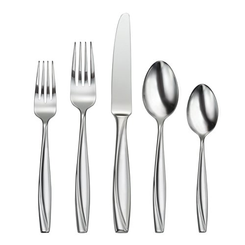 Oneida Camlynn Mirror 20 Piece Everyday Flatware Set, Service for 4