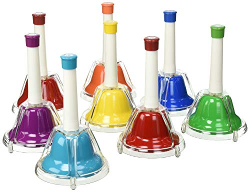 Percussion Workshop CB8 - Set de 8 campanas, multicolor