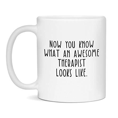 Taza de terapeuta, regalo de terapeuta, terapeuta impresionante, terapeuta, tazas de terapeuta, regalos de terapeuta, taza de terapeuta divertida, regalo de terapeuta divertido