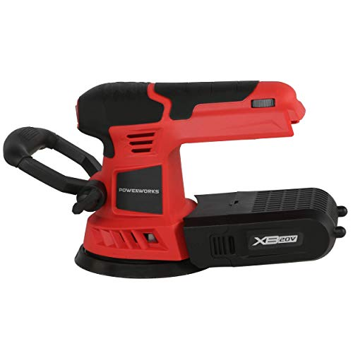POWERWORKS XB 20V Cordless 5-Inch Orbital Sander, Battery and Charger Not Included OSG304