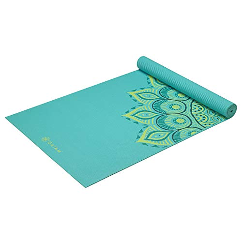 Gaiam Yoga Mat for Pilates & Floor Workouts
