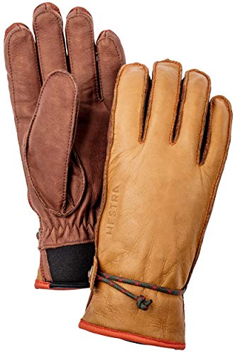 HESTRA Wakayama 5-Finger Handschuhe Cork/Brown Handschuhgröße 10 2020 Outdoor Handschuhe