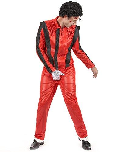 Generique - Déguisement de Michael Jackson dans Thriller