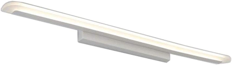 Spiegel vorne Licht LED Nordeuropa einfache WC Badezimmer moderne Wandleuchte europischen Wasserdicht Beschlagfrei Energieeinsparung warmes Licht Lampen (40 cm 8W) (Farbe  warmes Licht -40