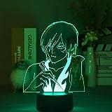 Lámpara De Ilusión 3D Luz De Noche Led Oficina Para Niños Avatar The Last Air Master Zuko Regalo Para Niños Decoración Para Fiestas Casa Hotel