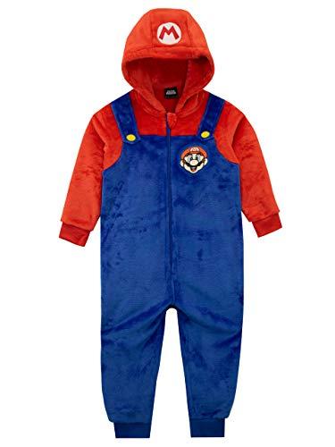 Unbekannt Super Mario Jungen Schlafoveralls Mehrfarbig 146