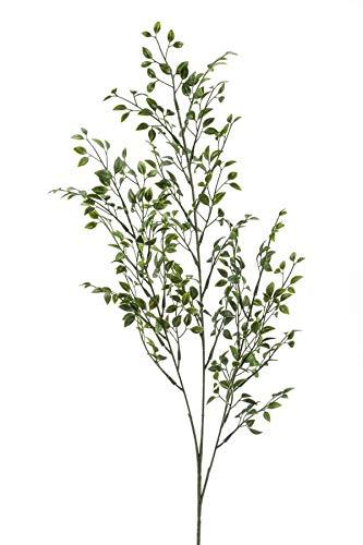 artplants.de Kunstzweig Buchsbaum Zweig Arica, 75cm - Plastik Buchs Zweig