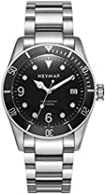 NEYMAR 41.5mm Men's Automatic Watch 300m Diver Watch 200m Stainless Steel Watch(Solid Buckle Upgrade)