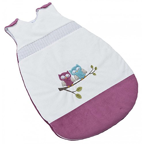 Be Be's Collection 462-72 Winterschlafsack Motiv Eule fuchsia 110cm