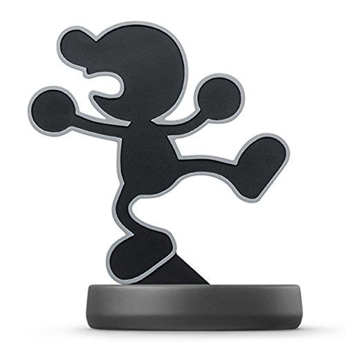 amiibo Mr.Game&Watch (Super Smash Bros Series) for Nintendo Wii U, Nintendo 3DS