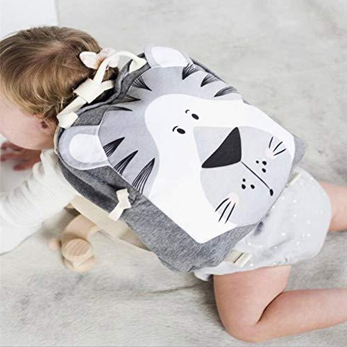 Kalaokei Cartoon Monkey Giraffe Tiger Rabbit Schulbuchtasche Rucksäcke Kinder Schultasche Geburtstagsgeschenk *AFFE