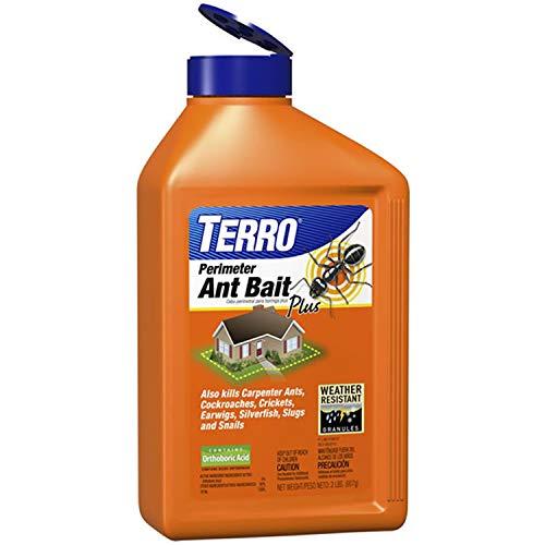 TERRO 2600 FBA 2 Lb. Perimeter Ant Bait Plus T2600, 1 Pack